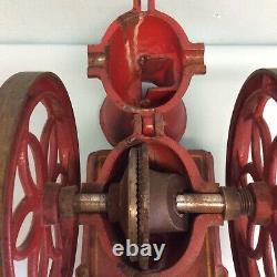 John Wright Double Wheel Coffee Mill 12.25