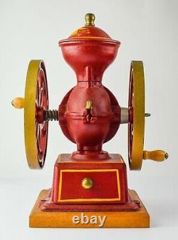 John Wright Inc. Cast Iron Coffee Mill EXCELLENT ORIGINAL CONDITION DK72