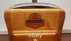 Kaffeemühle Zassenhaus antik Coffeegrinder Mühle Holzmühle Holz Wood antique