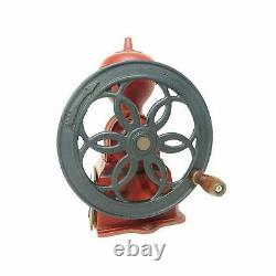 Kalita Antique Design Dial Mill Red 42137 Cast iron Coffee Grinders