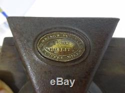 Kings Patent Coffee MILL Best Quality Coffee Grinder Cast Iron Wall Mount