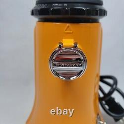 KitchenAid A-9 coffee grinder Burr Rare Tangerine Color Working Vintage Hobart