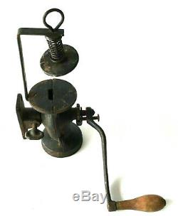 Landers Frary Clark Antique Universal No 24 Wall Mount CAST IRON COFFEE GRINDER