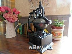 Large French Vintage Peugeot Ornate Coffee Grinder