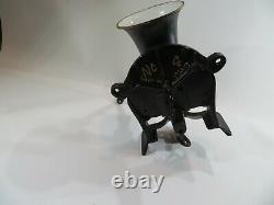 Large Vintage Spong & Co. Ltd England No. 4 Coffee Grinder Mill