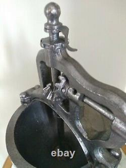 Large shop counter Antique Peugeot A2 Cast Iron Coffee Grinder c1900s