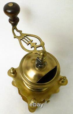 MACININO ANTICO MACINA CAFFÈ OTTONE Antique Brass Coffee Grinder