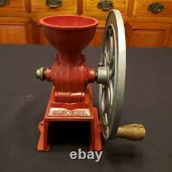 MJF Patentado Antique Coffee Grinder Mill Original Cast Iron Single Wheel Spain