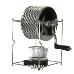 Manual Blade Coffee Grinder, Antique Vintage Stainless Steel Hand Crank Windmill