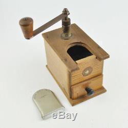 Mocka Mühle Gesto D. R. P. Mokka Kugellager Vintage Coffee Grinder alt