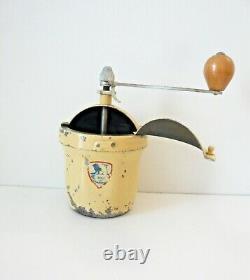 Moulin à café Peugeot Frères, modèle GI French Vintage Coffee Grinder 1950s