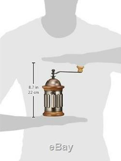 New Kalita Hand Grinder Wood coffee Copper mill Vintage Japan Free Shipping