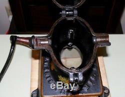 No. 1 Enterprise Coffee Grinder 1875 Patent antique cast iron mill
