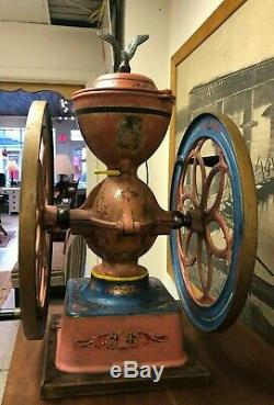 ORIGINAL Antique Cast Iron Enterprise No. 7 Coffee Grinder / Mill