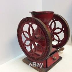 Original Antique STOWMARKET Coffee Grinder From Suffolk, England 1920 Rare