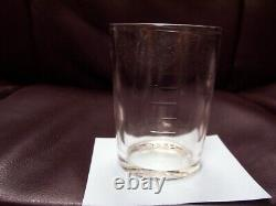 Original Arcade Crystal No. 3 catch cup with tablespoon markings in Ex. Cond