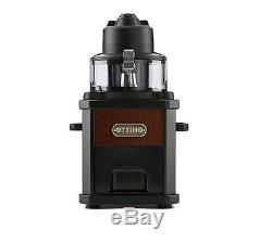 Ottimo Coffee Bean Roaster Grinder Mill Home Cafe DIY Antique Wood Machine New