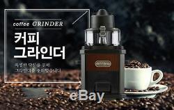 Ottimo Coffee Bean Roaster Grinder Mill Home Cafe DIY Antique Wood Machine R u