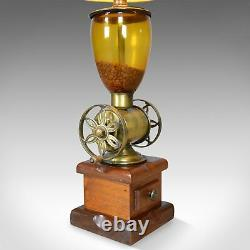 Pair of Large Vintage Table Lamps in the form of Coffee Grinders, Late C20th