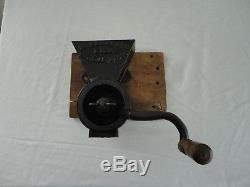 RARE! Antique DR. EDWARDS MILL (PAT. MAR 1,1859) Cast Iron Coffee Grinder Mill