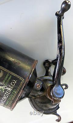 RARE Antique MJB Coffee Grinder, 1900s