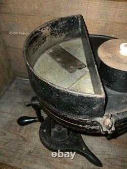 Rare #49 Enterprise 1870's Vegetable Cutter Cast Iron Coffee Grinder