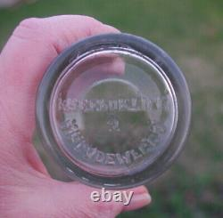 Rare Antique Authentic Arcade Crystal #3 Coffee MILL Coffee Grinder Catch Cup
