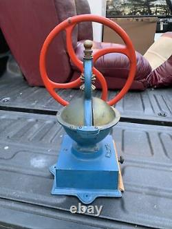 Rare Antique BIG SIZE No. 2 Made In Spain Elma Coffee Grinder/Mill Early 1900s