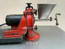 Rare Original Antique Raymond Electric Coffee Grinder Industrial Mill