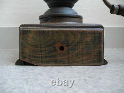 Rare moulin café comptoir Japy french antique coffee grinder antike kaffeemühle