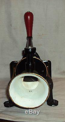 Spong & Co. Ltd Made In England Vintage Coffee Grinder Old 1910