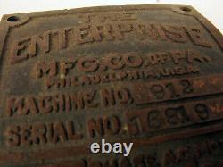 The Enterprise Industry Manufacturing Metal Machine Plaque Coffee Bean Grinder