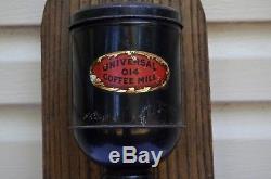 Universal 014 Antique Coffee MILL Grinder Britain 1909