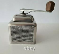 VINTAGE CAST COFFEE GRINDER BY MOULUX MADE IN FRANCE 1950's