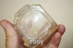 Very Rare #9010 Arcade Coffee Grinder With Finned Crystal Top And Catch Cup