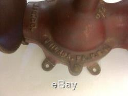 Very Rare Antique National Specialty Coffee Grinder Mill Excellent Working Cond