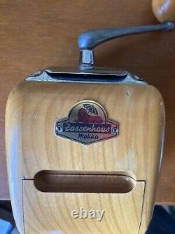 Very Rare Vintage Zassenhaus Mokka Coffee Grinder No. 531'Brillant' model German