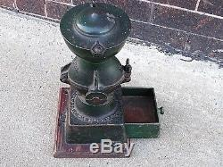 Victorian antique store coffee grinder Universal 11 by Landers Frary & Clark