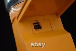Vintage 70s Braun 4045 Coffee Grinder / orange colour / minimalist space age