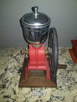 Vintage Antique Coffee Grinder For Sale