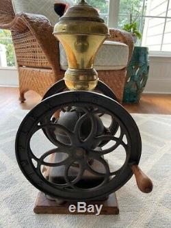 Vintage Antique Coffee Grinder, Simplex No6 Cast Iron 23, Original Condition