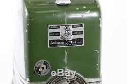 Vintage Art Deco American Duplex Co. Model 24 Coffee Grinder
