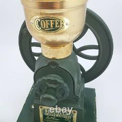 Vintage Birchleaf Coffee Grinder London Cast Iron Design Reg No 2063773
