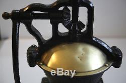 Vintage Cast Iron Coffee Mill Grinder Peugeot Freres Rest 6.5kg/14.3lbs Antique