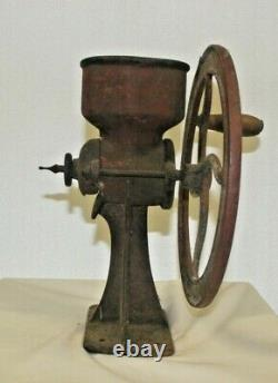 Vintage Cast Iron General Store Coffee/corn Feed Grinder No. 1 1/2