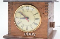 Vintage Coffee Grinder Clock