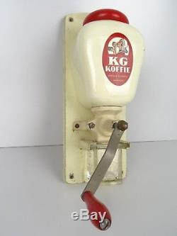 Vintage Coffee Grinder Dutch Wall KG Kanis (Zassenhaus Peter Dienes Delft era)