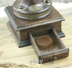 Vintage Coffee Grinder Italian Woodart Mill Moulin cafe Molinillo kaffeemuehle