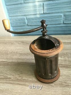 Vintage Coffee Grinder Peugeot Freres G2 Mill Bean Brevete