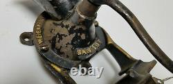 Vintage Coffee Grinder Santoy no 0 Weiball Harden England RARE